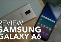 Samsung Galaxy A6 videoreview: stijlvolle smartphone onder de loep