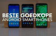 Video: de 4 beste goedkope Android-smartphones van dit moment