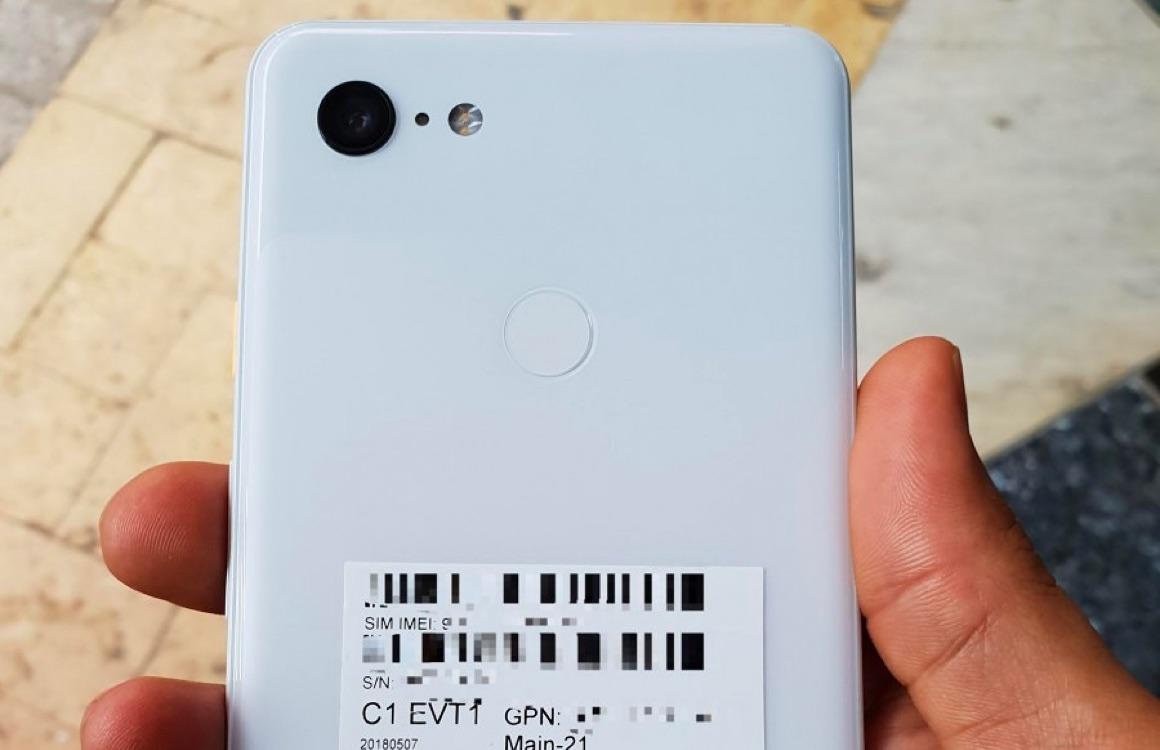 Gelekte foto's tonen 'Clearly White'-versie van Google Pixel 3 XL