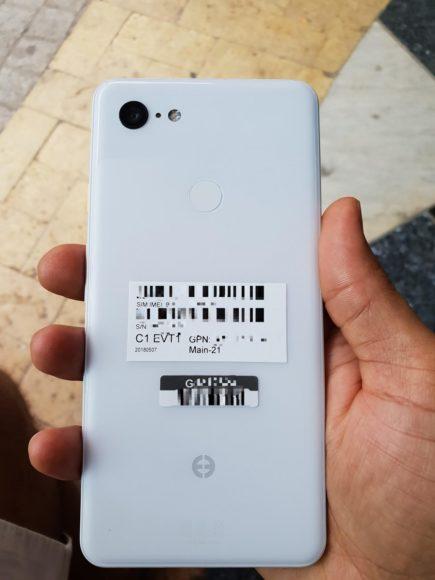 google pixel 3 xl foto