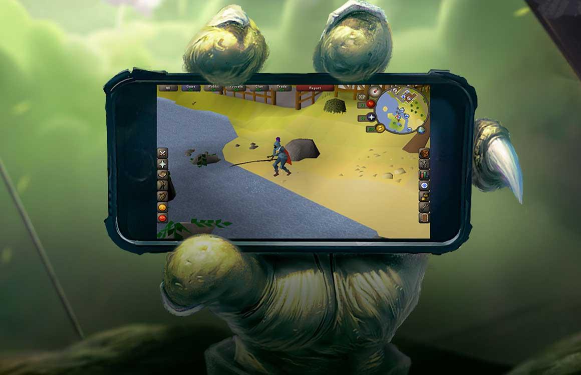Download nu de bèta voor Old School RuneScape in de Play Store