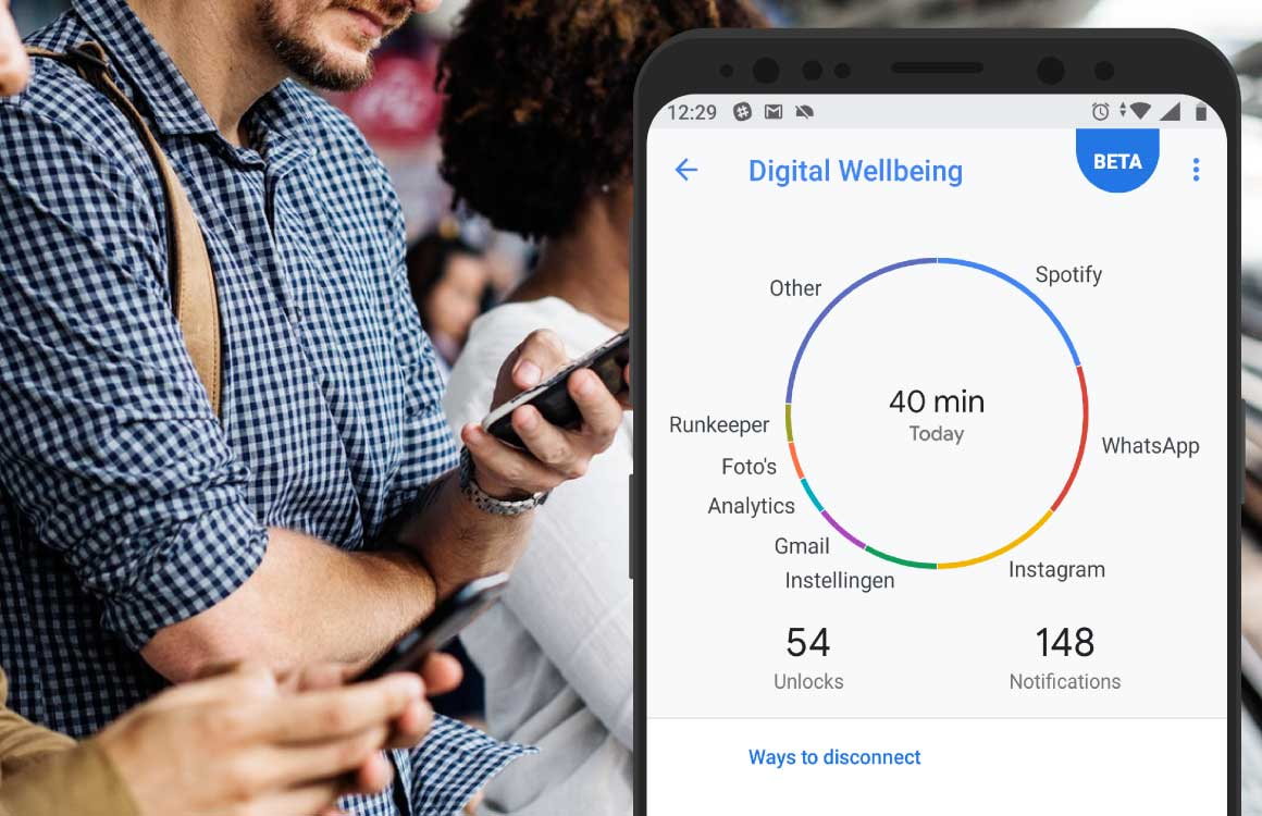 Digitaal Welzijn nu beschikbaar voor Android One-telefoons met Android Pie