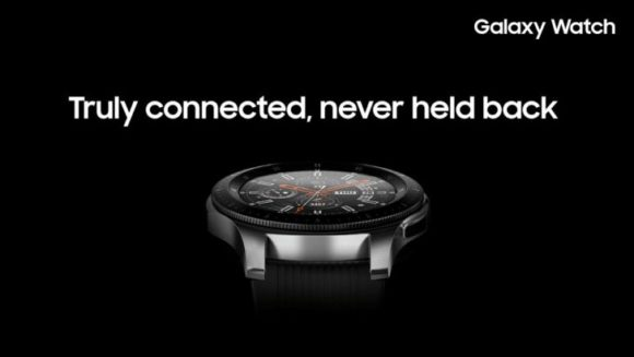 Galaxy Watch black