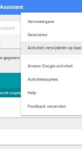 Google Assistent gesprek verwijderen pc (2)