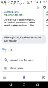 Google Assistent gesprek verwijderen screen 2