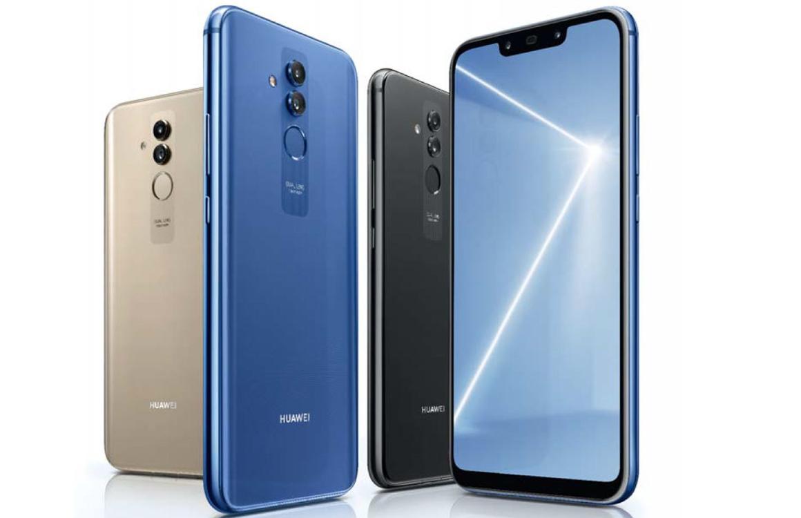 Huawei's nieuwe Mate 20 Lite: duurdere variant op P Smart Plus
