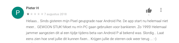 ABN AMRO Android P