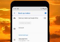 Tip: zo maak je snel een back-up van je Android-toestel