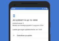Deze Android-smartphones kregen een (beveiligings)update – week 38