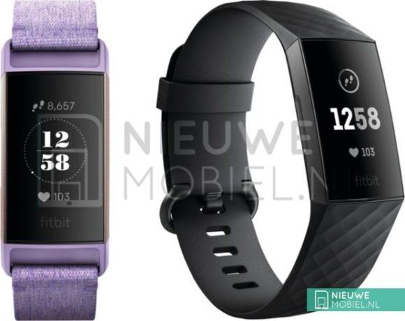 fitbit charge 3 foto's