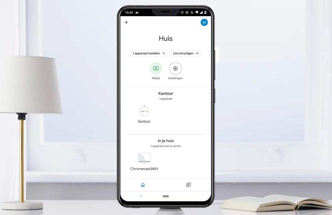 google home app uitg