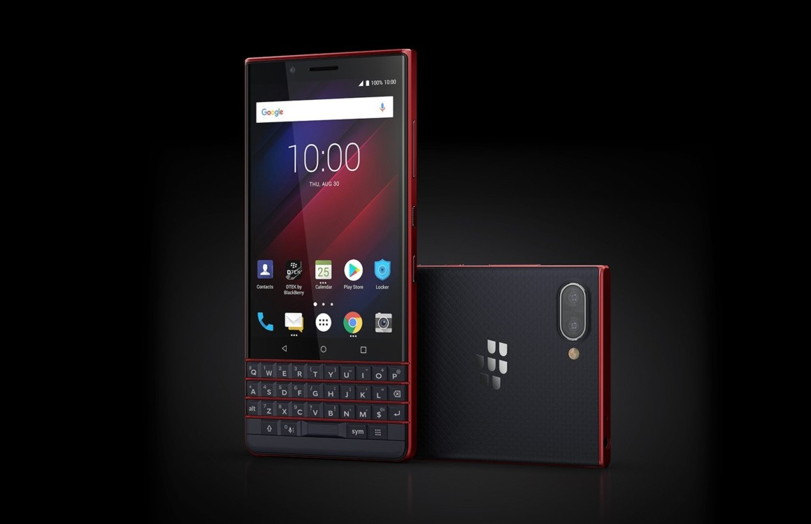 BlackBerry Key2 LE onthuld