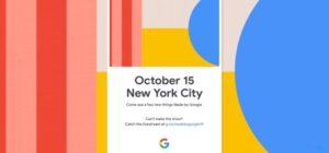 Google kondigt Pixel 4 aan op 15 oktober