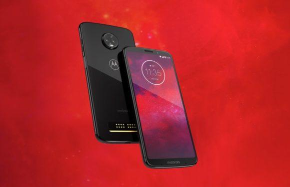 Motorola introduceert Moto Z3: nieuw vlaggenschip met 5G Moto Mod