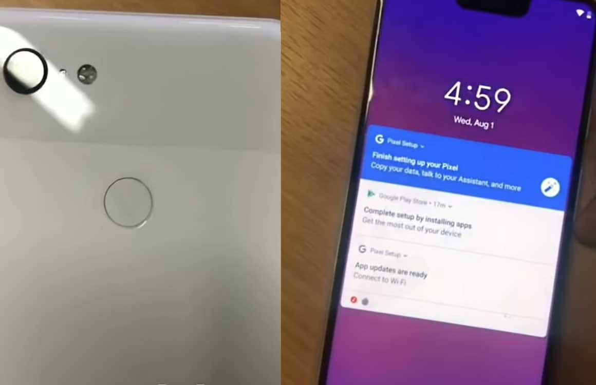 'Pixel 3 XL-video toont toestel en bevestigt specs'