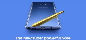 Zo kun je de Samsung Galaxy Note9 winnen