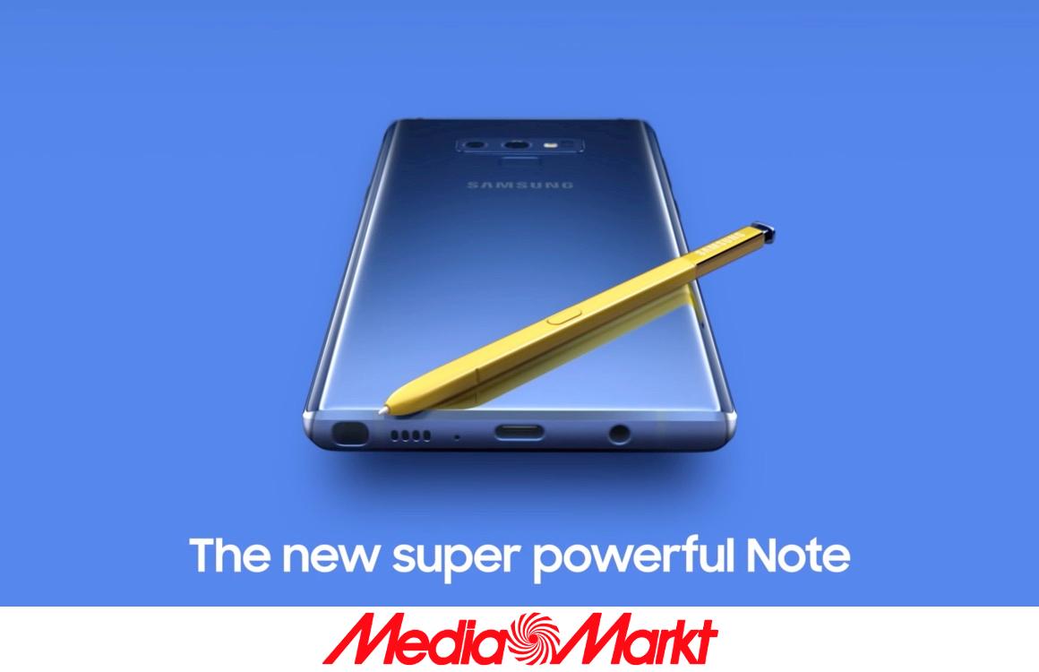 Laatste kans: win een Galaxy Note9 met Android Planet en MediaMarkt!