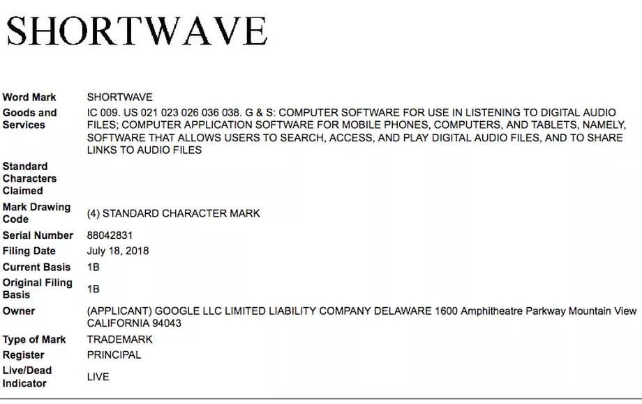 Google Shortwave