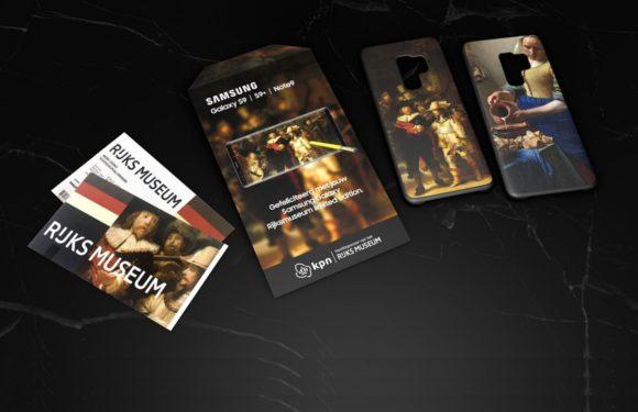 Samsung en KPN ontwikkelen Rijksmuseum-versie Galaxy S9 en Note 9