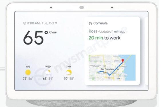 'Dit is de Google Home Hub: Googles eerste slimme scherm'