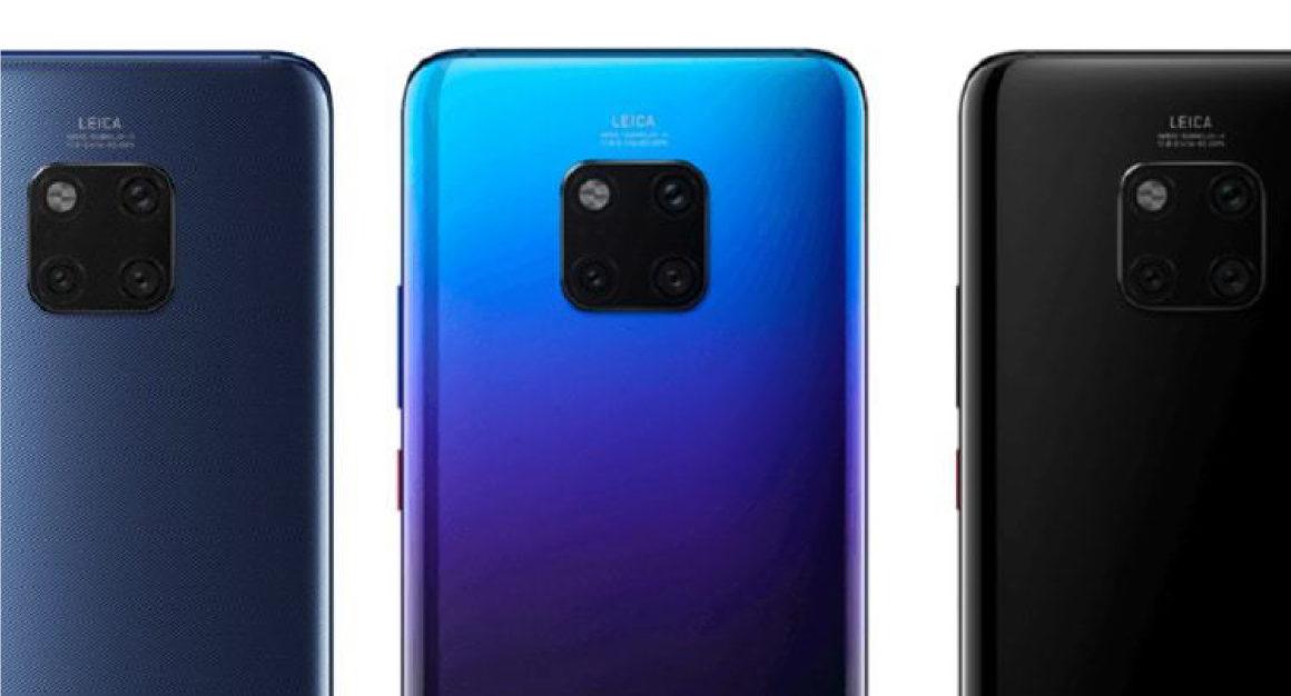 Huawei-Mate-20-Pro-gelekt-achterkant
