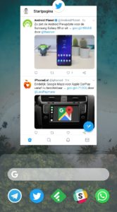android pie splitscreen