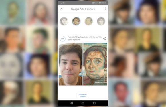 Met 'Art Selfie' vertelt Google je welk kunstwerk jij bent