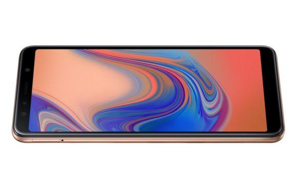 Samsung introduceert Galaxy A7 (2018) met drie camera's achterop