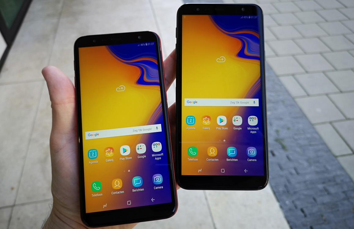 Samsung Galaxy J6 Plus en J4 Plus preview: rentree op de budgetmarkt