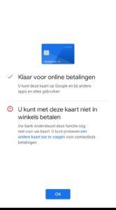 Google Pay release Nederland