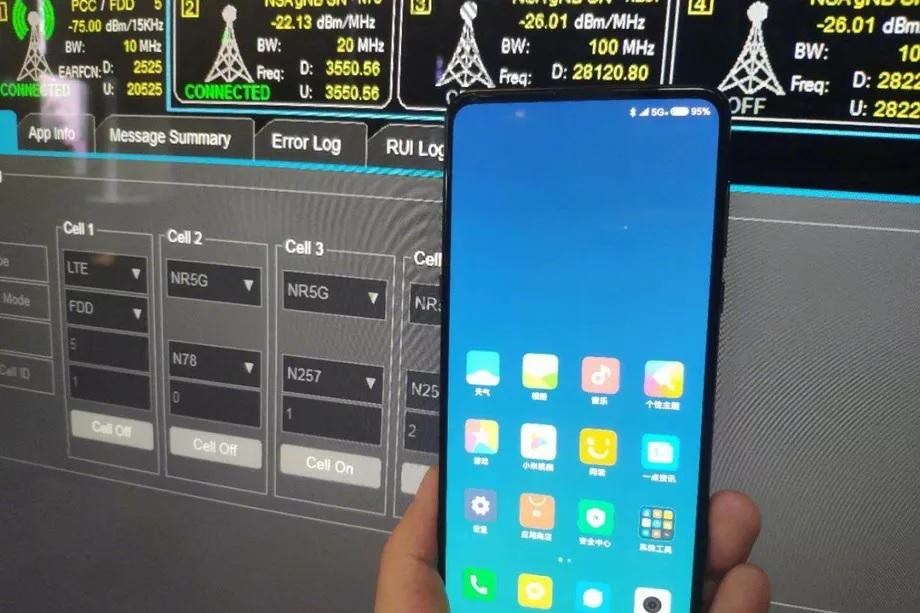 Xiaomi Mi Mix 3 5G-ondersteuning