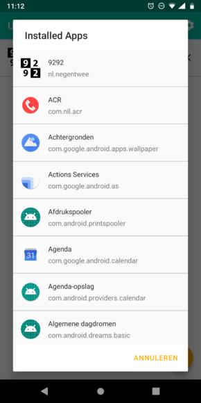 Android notificaties terughalen screenshot (1)