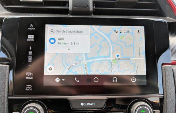 Google Maps voor Android Auto is vernieuwd: 4 verbeteringen op een rij
