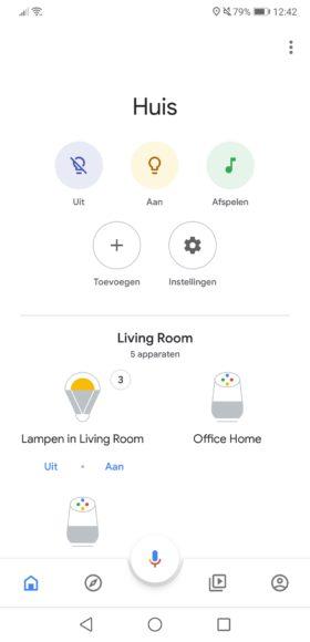Google Home Nederlands instellen