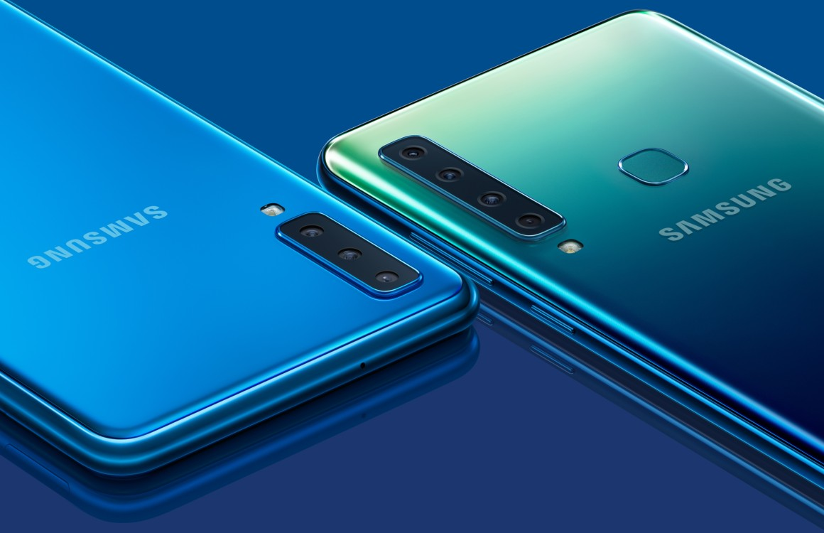 Android Pie-update voor Samsung Galaxy A9, A7 en A6 nu te downloaden