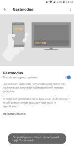 chromecast gastmodus