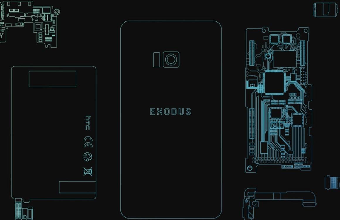 HTC onthult Exodus 1 als 'blockchain-smartphone', met U12+-hardware