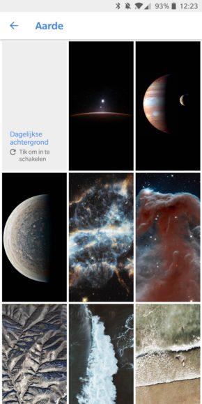 google achtergronden-update