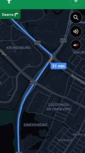 google maps donkere modus
