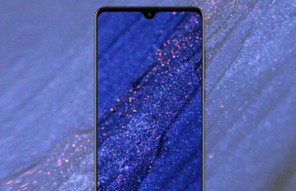'Huawei Mate 20 toont zijn minuscule notch in gelekte afbeeldingen'