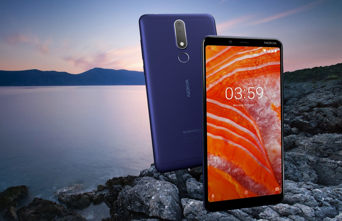 Nokia 3.1 Plus aankondiging
