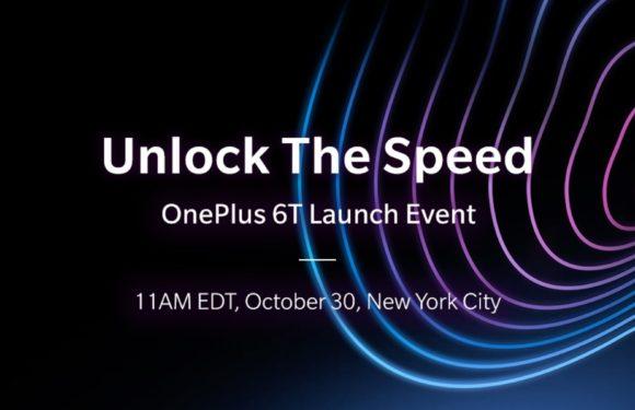Live: kijk mee naar de onthulling van de OnePlus 6T