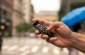 Nieuwe Palm-smartphone
