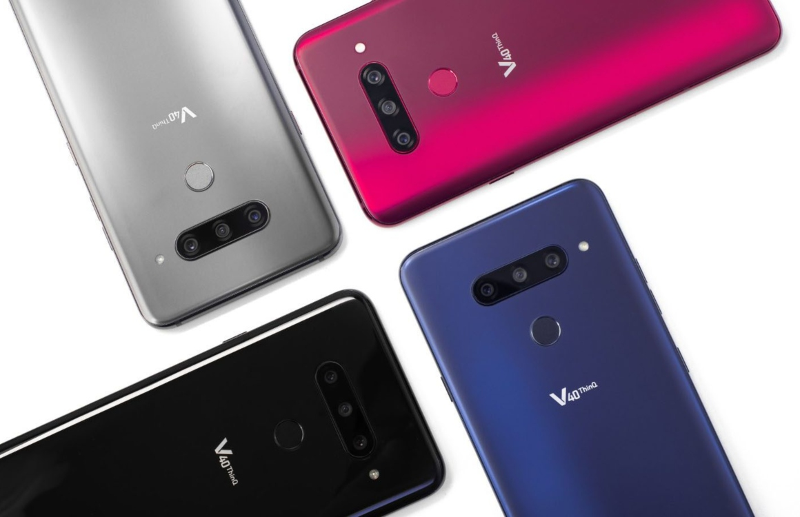 LG V40 ThinQ release