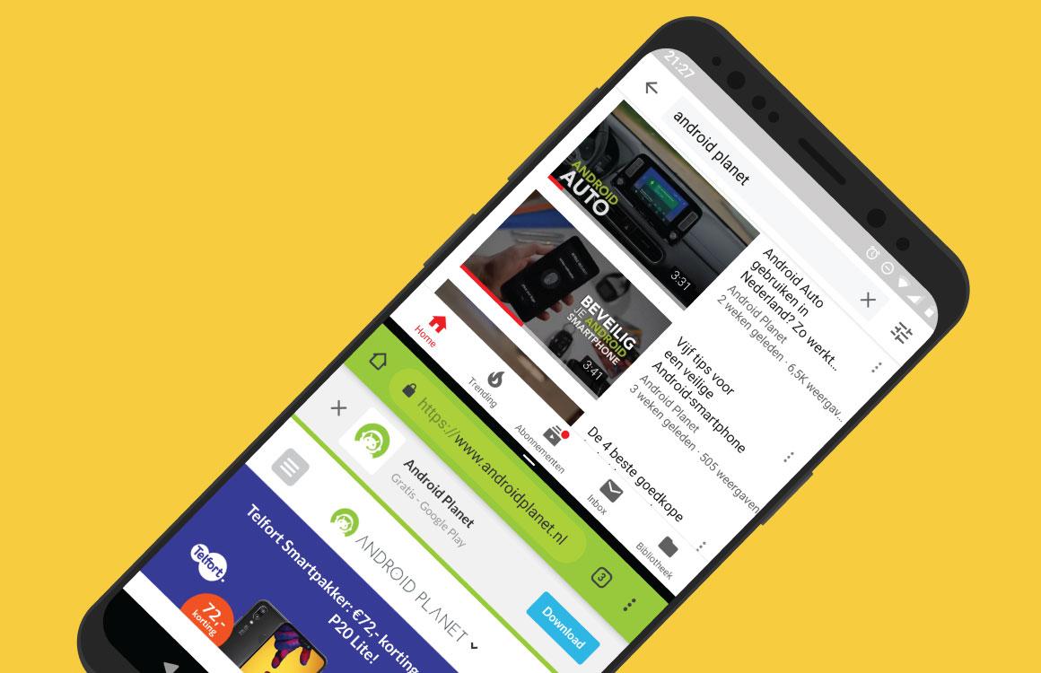 'Zo maakt Android Q multitasken beter en makkelijker'