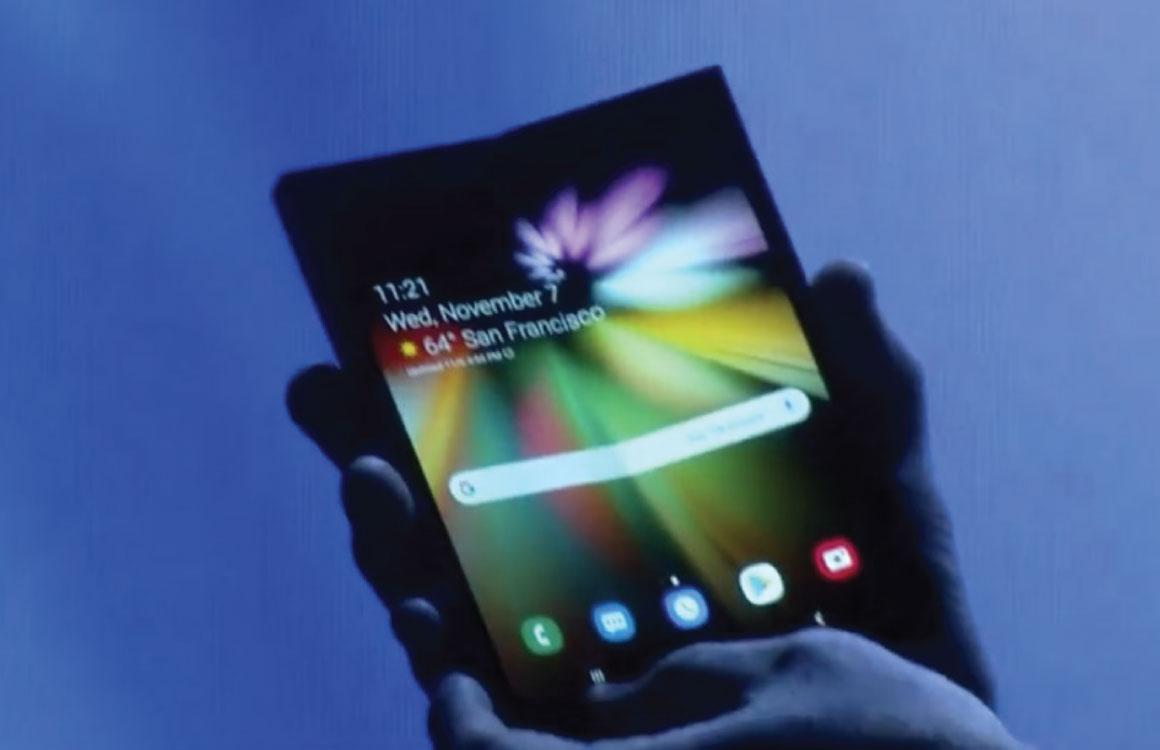 Samsung onthult eerste opvouwbare smartphone op 20 februari