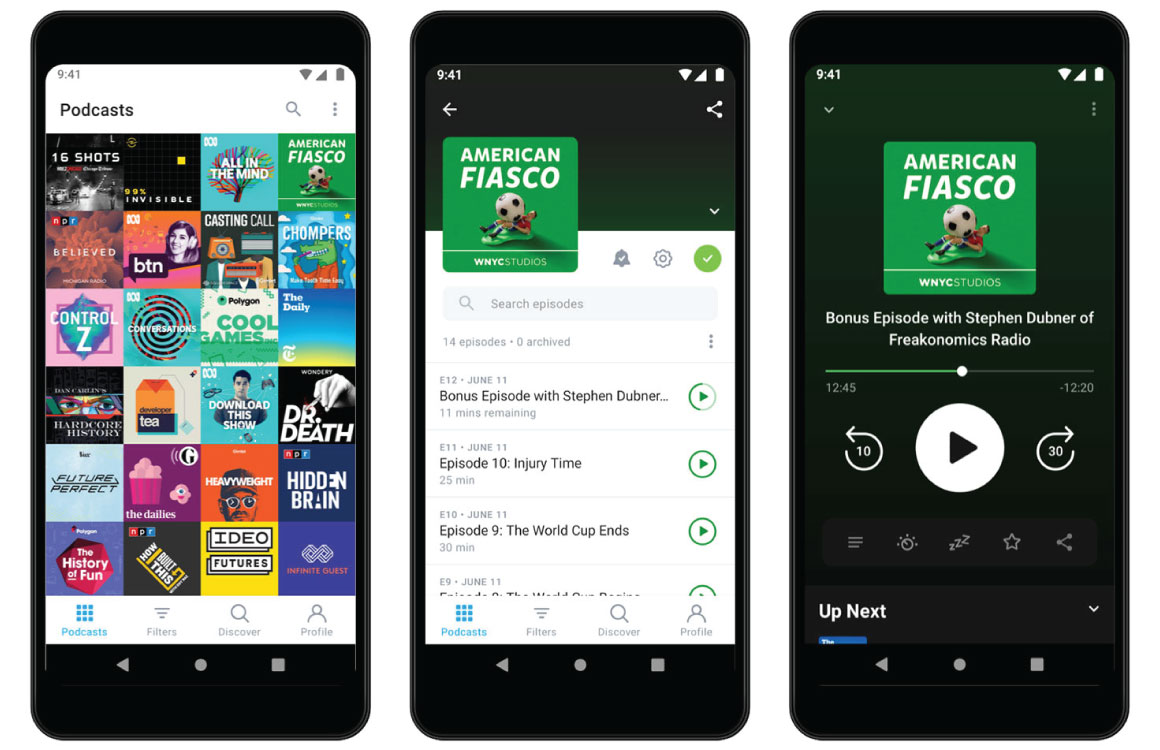 Podcast-app Pocket Casts is vernieuwd: 4 verbeteringen op een rij
