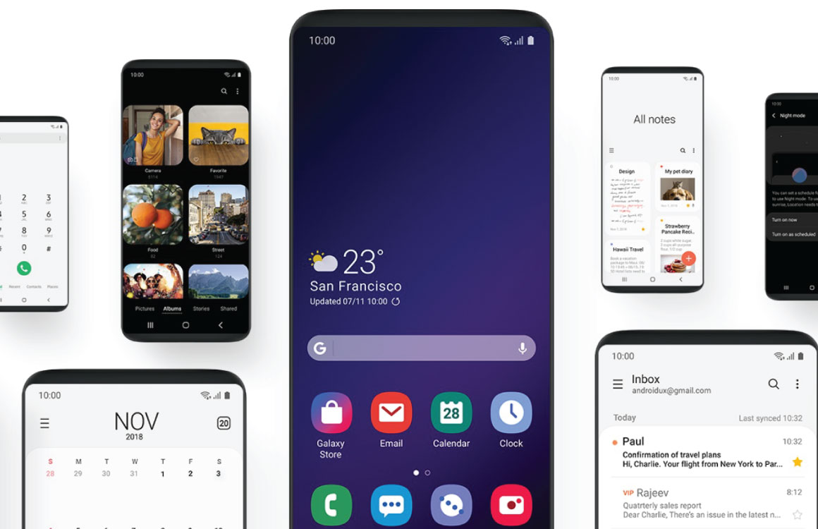 Samsung-Galaxy-S9-ANdroid-Pie-One-UI