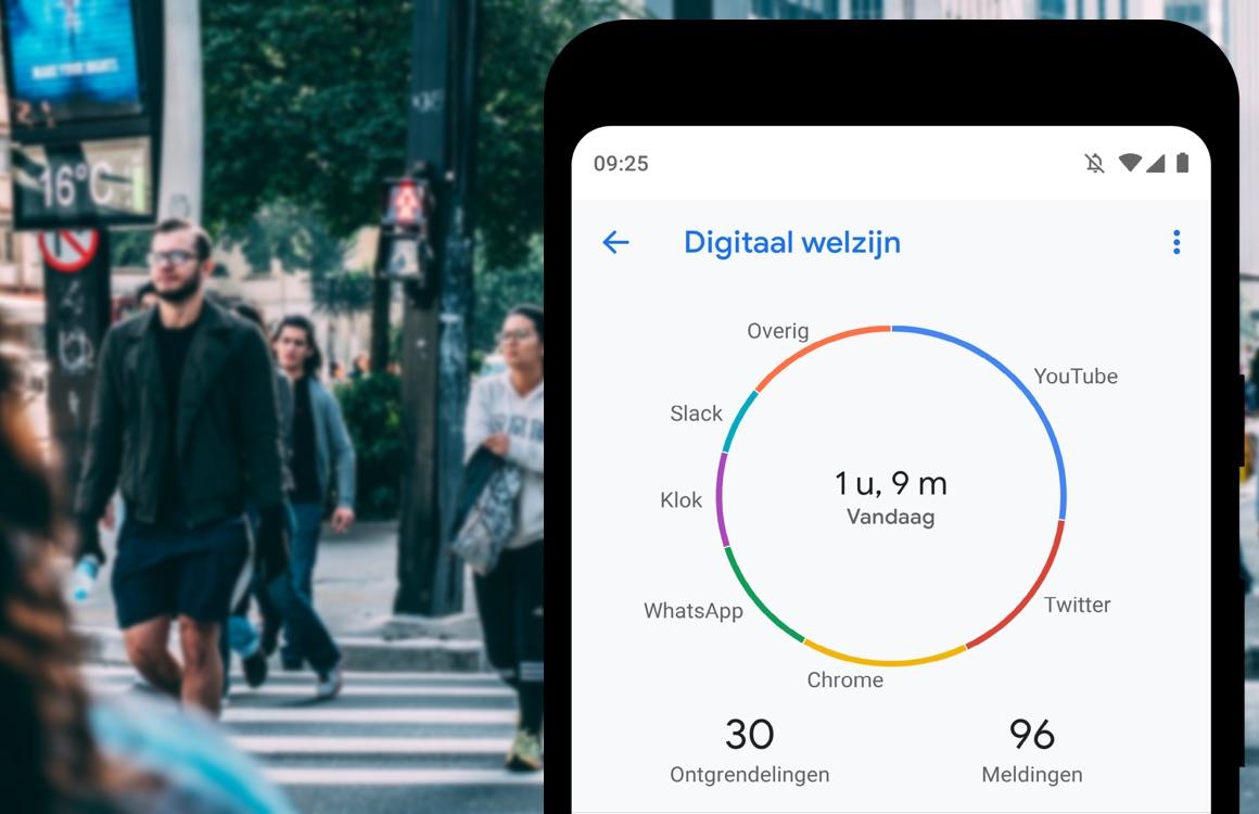 Googles Focus Mode helpt je minder naar je smartphone te kijken