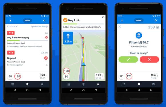 Flitsmeister-update voor Android voegt spraakbediening toe